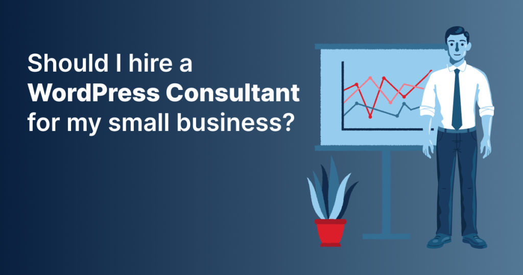 Hiring a WordPress Consultant Banner Graphic